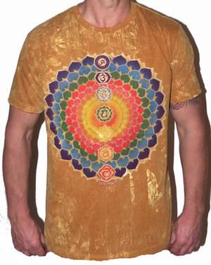 NO TIME T-shirt - Rainbow Blossom - Gul