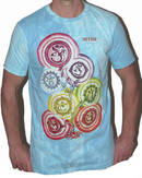 NO TIME T-shirt - Wandering Chakras - Blå