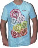 NO TIME T-shirt - Wandering Chakras - Blå
