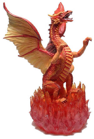 Tudor Mint - Large Fire Dragon