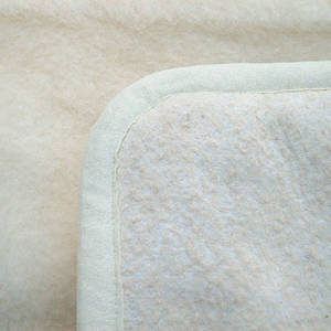 Yogamatta i merinoull - 200x70 cm  - Eko - Bomullsbotten
