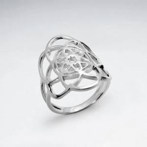 Livetsblomma Ring i Silver