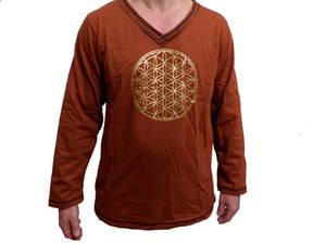 Långärmade  V neck T-shirt