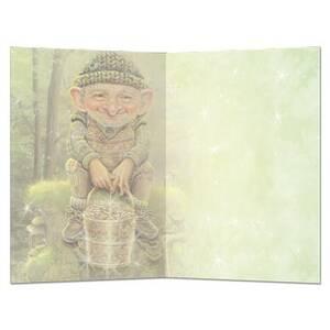 Dubbla vykort - Pot o' Gold