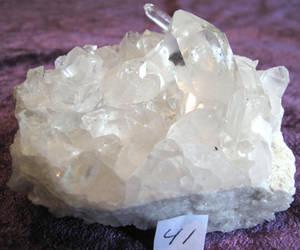 Bergkristall Kluster #41
