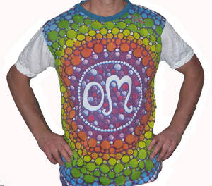 SURE T-shirt - Rainbow Om