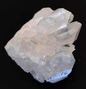 Bergkristall kluster  - A16  AAA Kvalitet