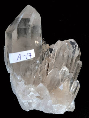 Bergkristall kluster  - A17  AAA Kvalitet