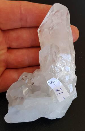 Bergkristall kluster  - A21 -  AAA Kvalitet