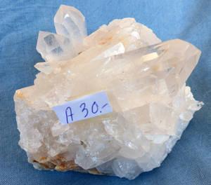 Bergkristall kluster  - A30-  AAA Kvalitet