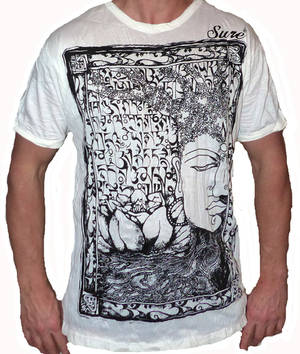 SURE T-shirt - Svart Buddha