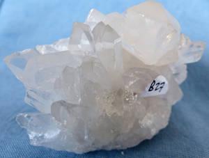 Bergkristall kluster  - B27