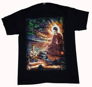 T-Shirt - Buddha Upplysning