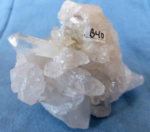 Bergkristall kluster  - B40