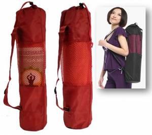 Röd Yogamat Väska