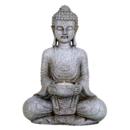 Mediterande Buddha med Ljushållare