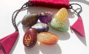 Chakra symboler i Sten