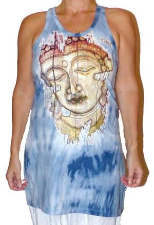 Långt Linne - Blue Buddha