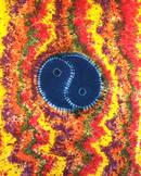 Yin Yang Batik Sängöverkast / Väggbonad