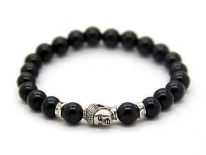 Buddha Armband - Svart Onyx