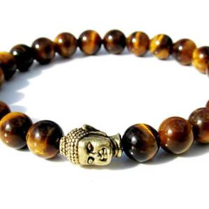 Buddha Armband - Tigeröga