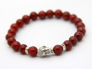 Buddha Armband - Karneol