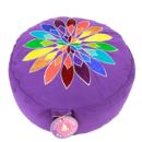 Meditationskudde -  Regnbågblomma