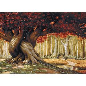 Dubbla vykort - Tree of Life