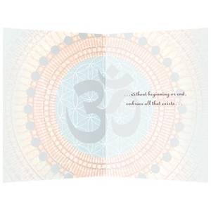Dubbla vykort - All Embracing Om