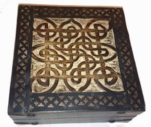 Keltiskaknut Skrin - Fyrkantig