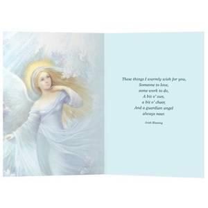 Dubbla vykort - Lilac Angel