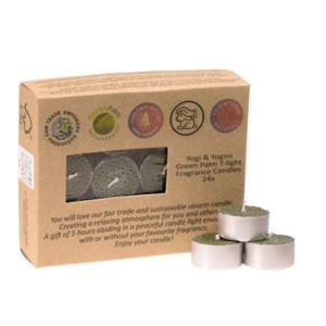 DoftLjus - Rättvisemärkt  - Livetblomma - Frankincense Doft