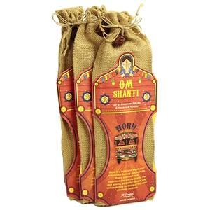 Indisk Tempel Rökelse Paket- Om Shanti