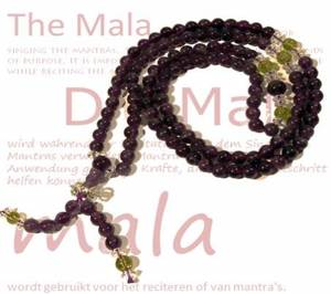 Ametist Mala - 108st Pärlor