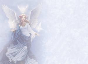 Dubbla vykort - Angel Flight