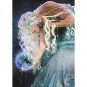 Dubbla vykort - Sister Moon
