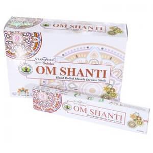 Om Shanti Stamford Masala Rökelse Stickor