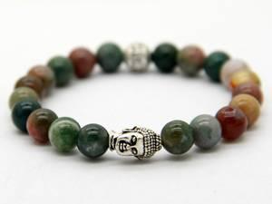 Buddha Armband - Regnbågsjaspis