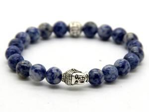 Buddha Armband - Sodalit