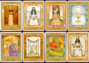 Goddess Tarot Deck  - small