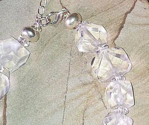 Bergkristall Armband - Fascetterat