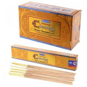 Satya Naturliga Chandan Rökelse Stickor 15g