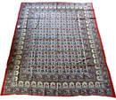 Handtryckta Indisk Väggbonad /Sängöverkast  - Elefant Mandala