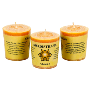 Chakra doftljus - Swadhishthana - Chakra 2 (Orange - Balans)