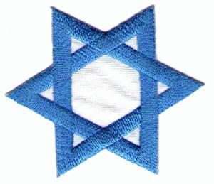 Tygmärken - Davids Stjärna
