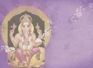 Dubbla vykort - Ganesha