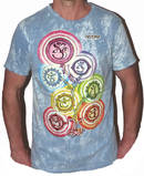 NO TIME T-shirt - Wandering Chakras - Grå