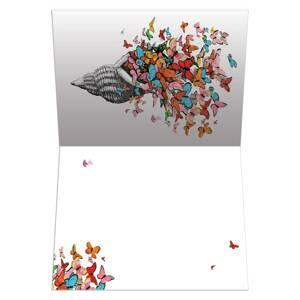 Dubbla vykort - Shell of Joy