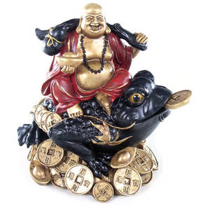 Glad Budda på Tre Ben Groda