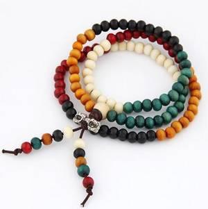 Mala Armband / Halsband  - Multifärg - Dorje